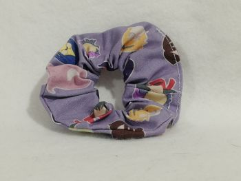 Scrunchie Made With Little Witch Academia Fabric