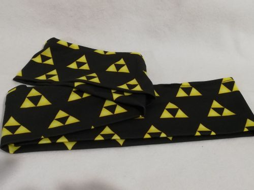 Infinity Scarf made with Triforce Fabric