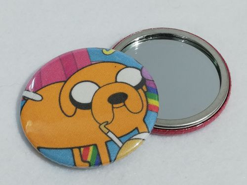 Mirror Made With adventure Time Jake fabric