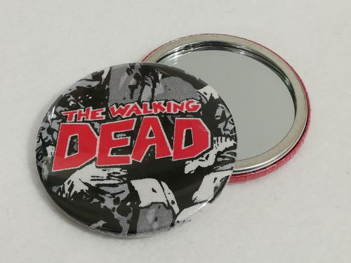 Mirror Made With Walking Dead fabrics