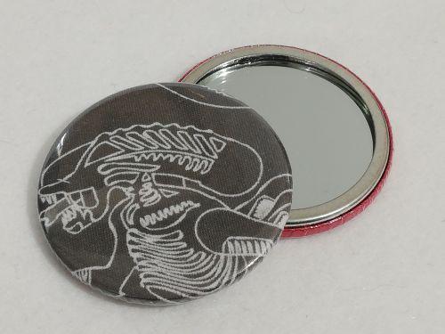 Mirror Made With Alien fabrics