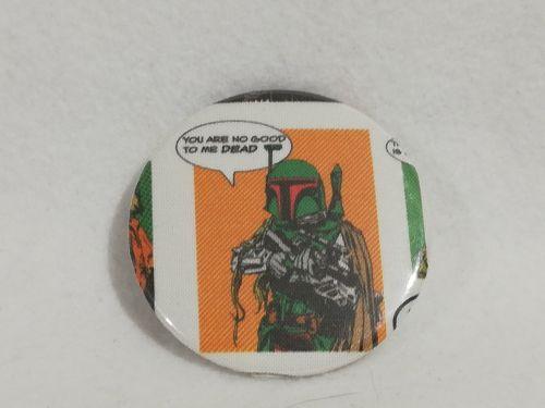 Badge Made With Bobba Fett Fabric