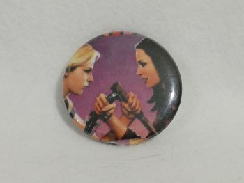Badge Made With Buffy The Vampire Slayer Fabric
