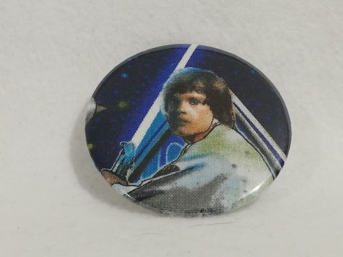 Badge Made With Luke Skywalker Fabric
