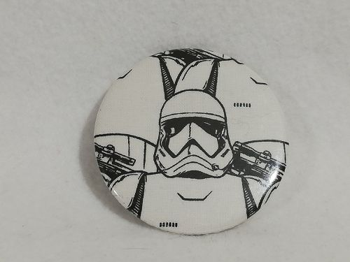 Badge Made With Storm Trooper Fabric