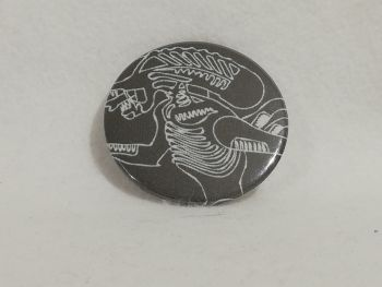 Badge Made With Alien Fabric