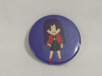 Badge Made With Misato Fabric