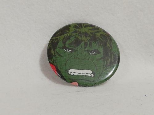 Badge Made With Hulk Fabric