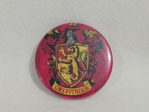 Badge Made With Gryffindor Fabric