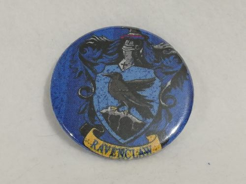 Badge Made With Ravenclaw Fabric