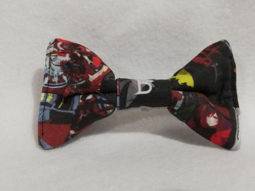 Hair Bow Made With RWBY Fabric