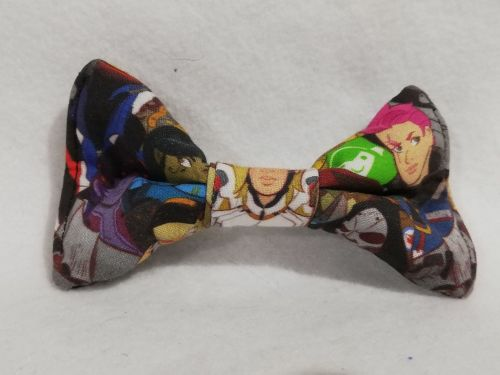 Hair Bow Made With Overwatch Fabric