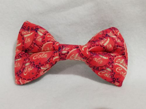 Hair Bow Made With Fallout Nuka Cola Bottle cap Fabric
