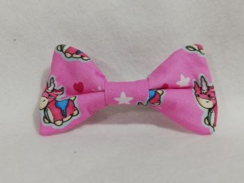Hair Bow Made With Balloonicorn Fabric
