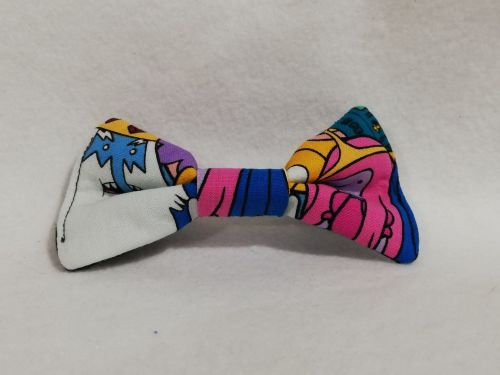 Hair Bow Made With Adventure Fabric