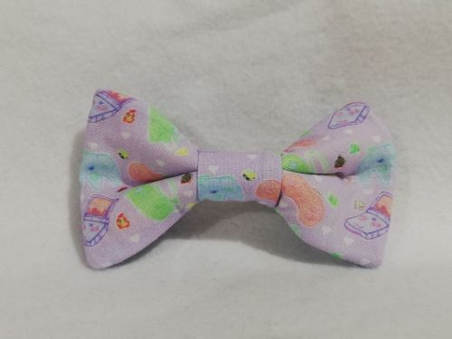 Hair Bow Made With Kawaii Controllers Fabric