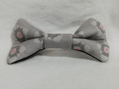 Hair Bow Made With Portal Fabric