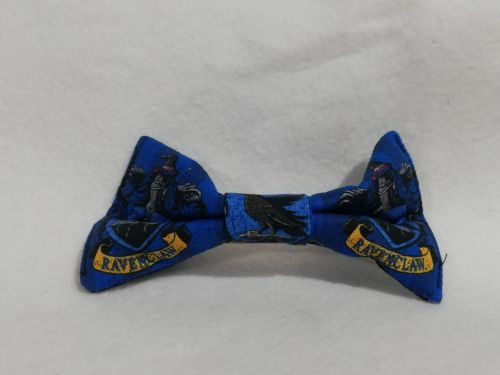 Hair Bow Made With Ravenclaw Fabric