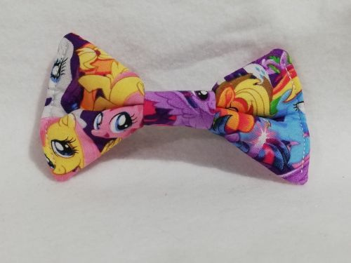 Hair Bow Made With Packed MLP Fabric