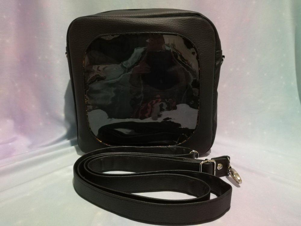 Ita square bag, Choose your colour, window bag.