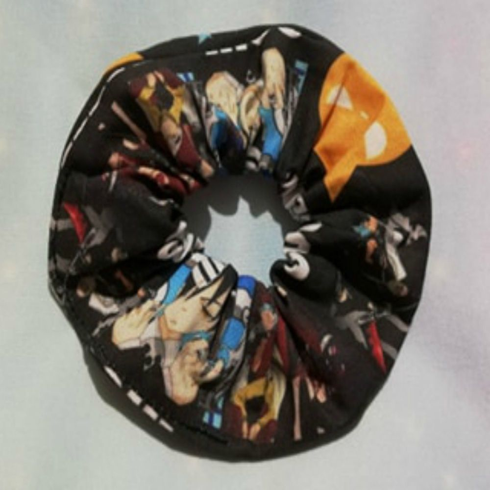 Scrunchie Made With Soul Eater Inspired Fabric