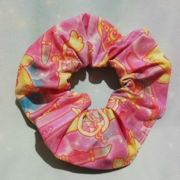 Scrunchie Made With Sailor Moon Inspired Fabric - Staffs