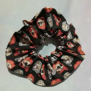 Scrunchie Made With Good Omens Inspired Fabric