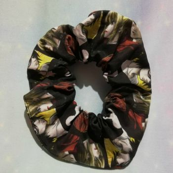 Scrunchie Made With Death Note Inspired Fabric
