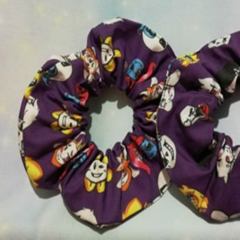 Scrunchie Made With Undertale Inspired Fabric - Exclusive