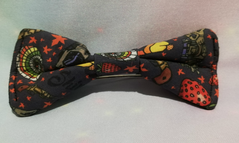 Hair Bow Made With Firefly Inspired Fabric