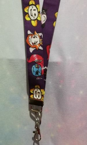 Lanyard Made With Undertale Inspired Fabric - Exclusive