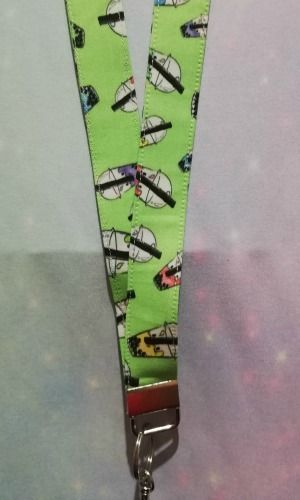 Lanyard made with Bubble Tea Fabric - Exclusive