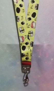 Lanyard made with Sushi Fabric - Exclusive