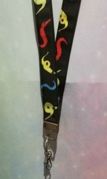 Lanyard Made With Worm On A string Fabric - Exclusive