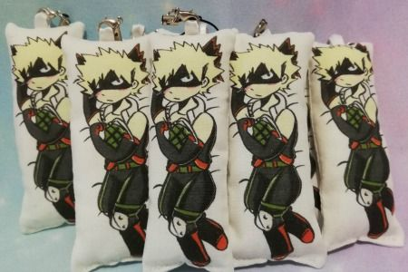 Bakugo / My Hero Academia Inspired Mini Daki