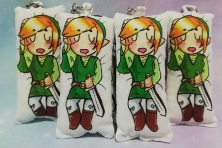Link / The Legend Of Zelda Inspired Mini Daki
