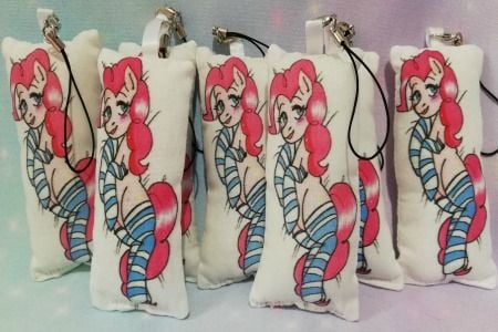 Pinkie Pie / My Little Pony Inspired Mini Daki