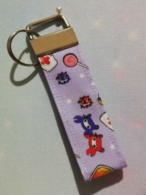 Key Fob Made With Team Fortress 2 Inspired Fabric - Exclusive