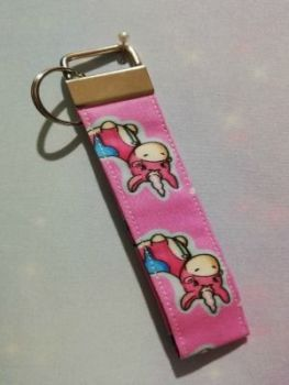 Key Fob Made With Team Fortress 2 Balloonicorn Inspired Fabric - Exclusive