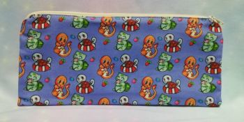Pencil Case Made With Pokemon Inspired Fabric - Exclusive