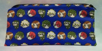 Pencil Case Made With My Hero Academia Inspired Fabric - Exclusive