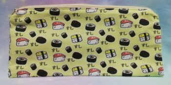 Pencil Case Made With Sushi Fabric - Exclusive