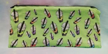Pencil Case Made With Bubble Tea Fabric - Exclusive