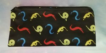 Pencil Case Made With Worm On A String Fabric - Exclusive