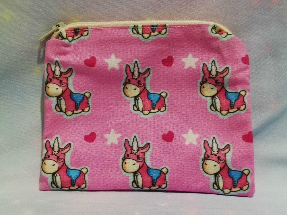 Zip Pouch Made With Team Fortress 2 Balloonicorn Fabric - Exclusive