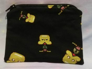 Zip Pouch Made With Petscop Inspired Fabric