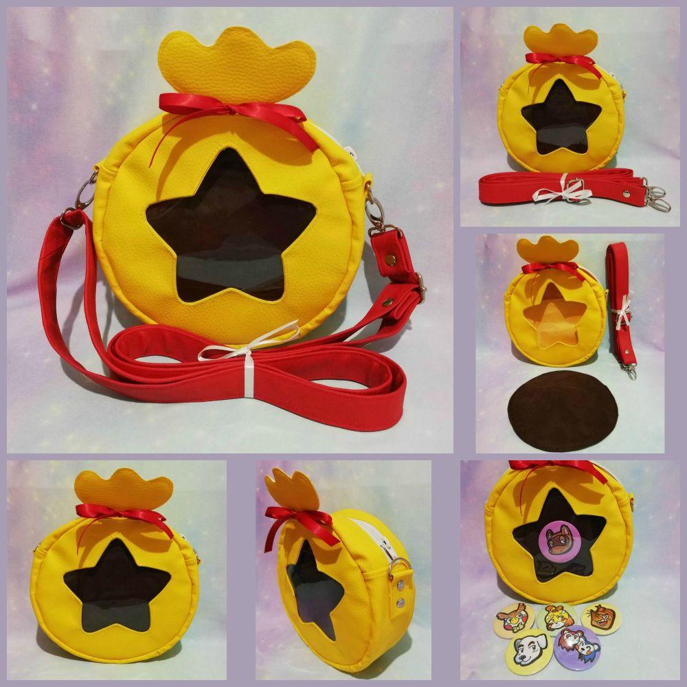 Animal Crossing Inspired Bell Bag Ita Bag