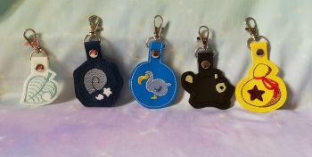 Animal Crossing Inspired Keyrings