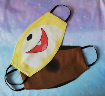 Face Masks Inspired By Animal Crossing characters