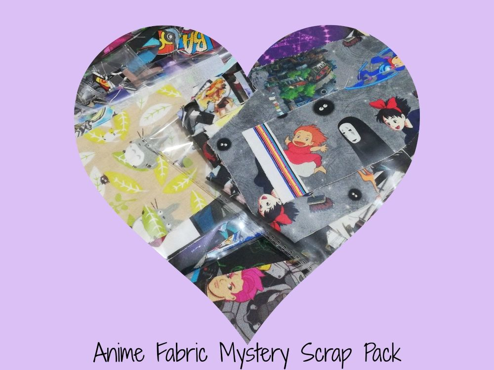 Anime Mystery Fabric Scrap Pack